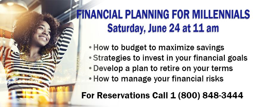 Financial Planning for Millennials 6.24.17